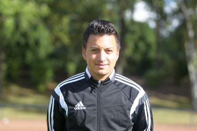 Unser Co-Trainer Dennis Ahmed