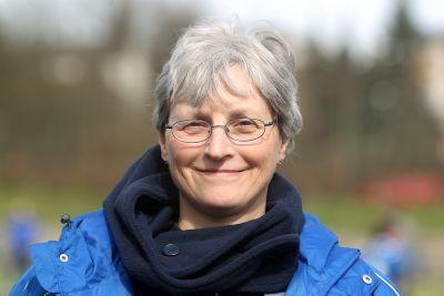 Unsere Trainerin Brigitte Kreutzer